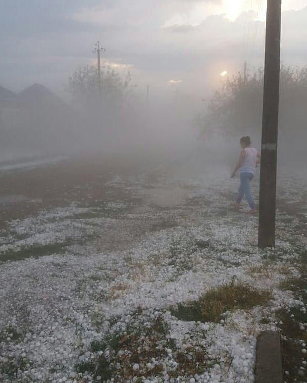 Краснодарский край пострадал от града-убийцы: фото и видео