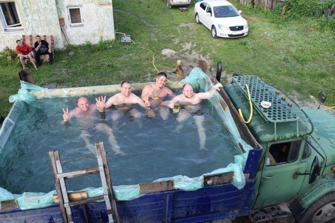 5. Настоящий мужской бассейн