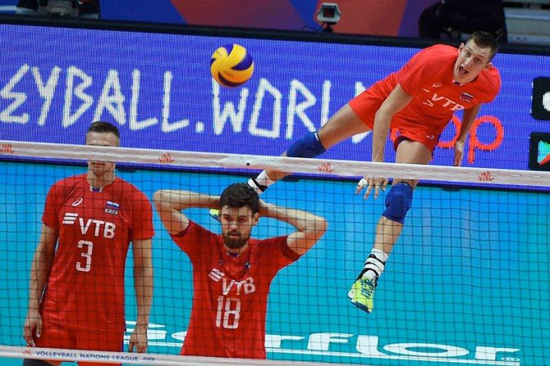 Россияне первыми выиграли Лигу наций по волейболу