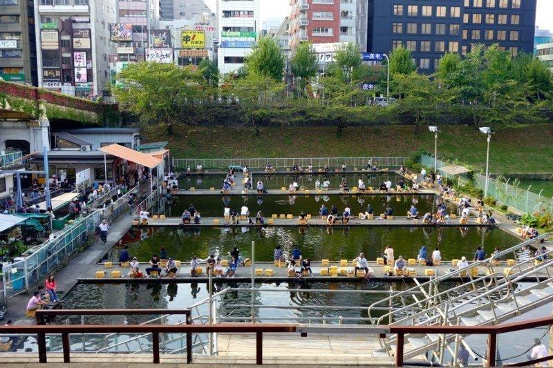 У этих странных японцев  зато улов гарантирован каждому