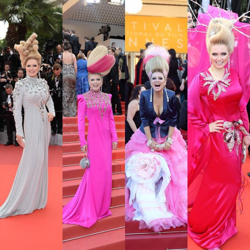 Графиня с вавилонами на голове: 20 провальных образов российской звезды