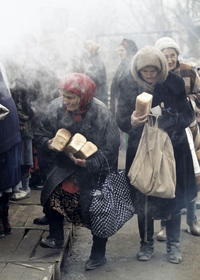 Когда хлеб не успевает черстветь, Грозный, 1999 год