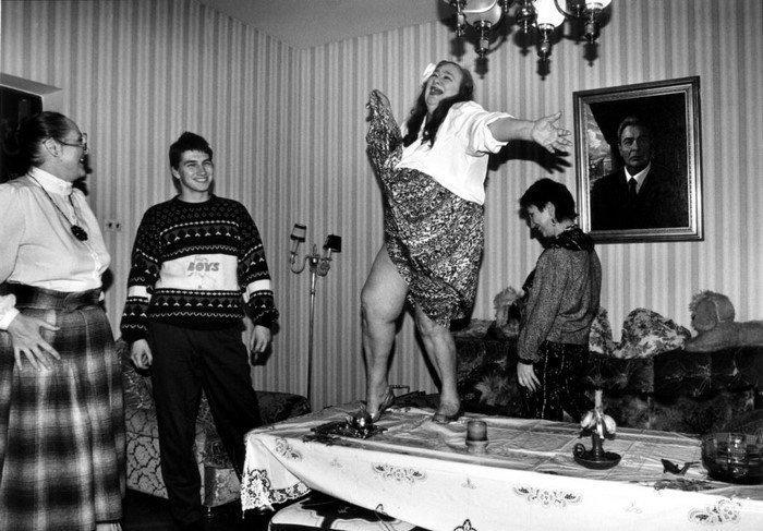 До эры Photoshop, Галина Брежнева, начало 1990-х