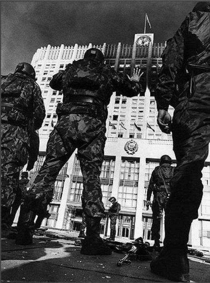 Белый Дом под ударом, 1993 год