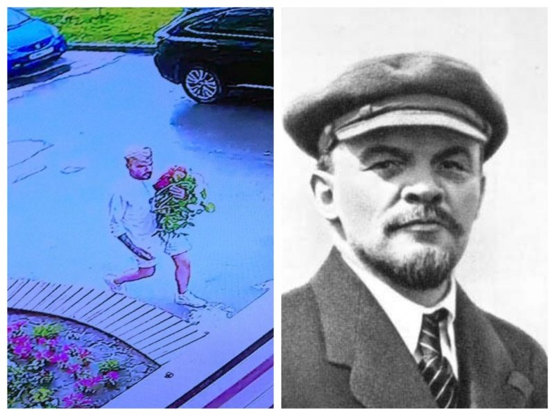 И Ленин такой молодой: в Новосибирске юноша в образе вождя обчистил клумбу