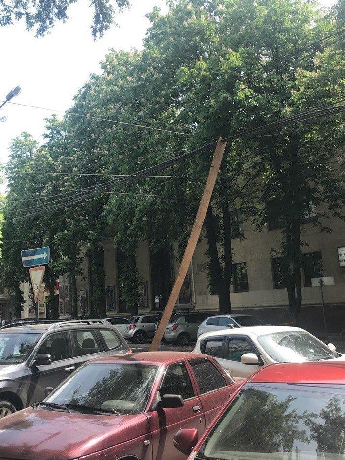 Ну, мы же не ждем торнадо в Воронеже?