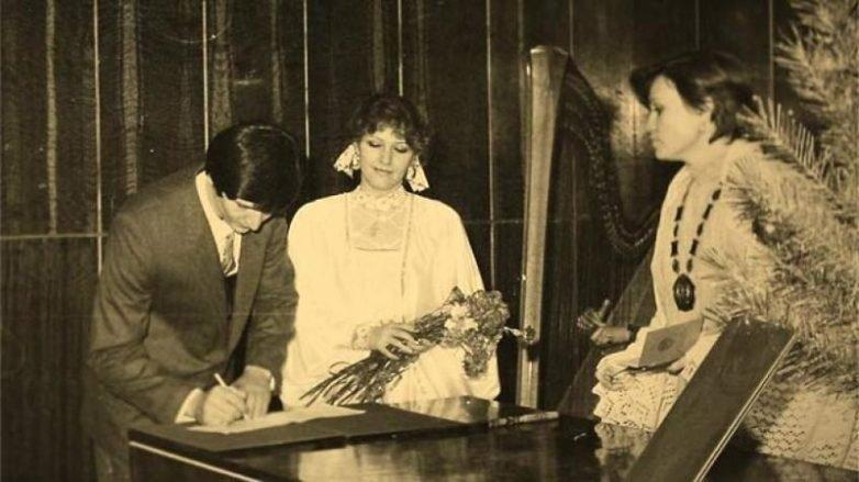 Елена Проклова вышла замуж за Виталия Мелик-Караева, 1971 год.
