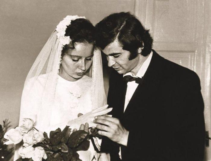 Илья Клявер женится на Ирине Олейниковой, 1973 год