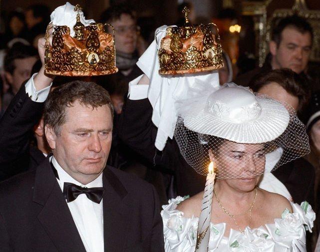 Владимир Жириновский и Галина Лебедева женились много раз