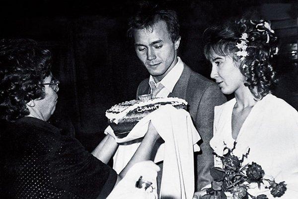 Андрей Панин и Татьяна Французова, свадьба, 1992 год