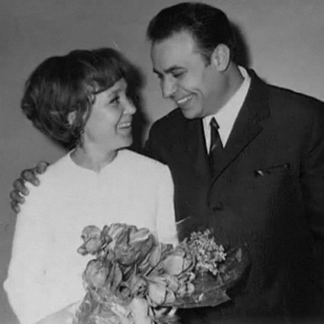 Надежда Румянцева и Вилли Хштоян, ЗАГС, 1967 год