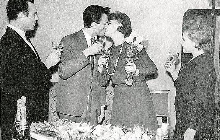 Владимир Меньшов и Вера Алентова, счастливы с 1963 года.