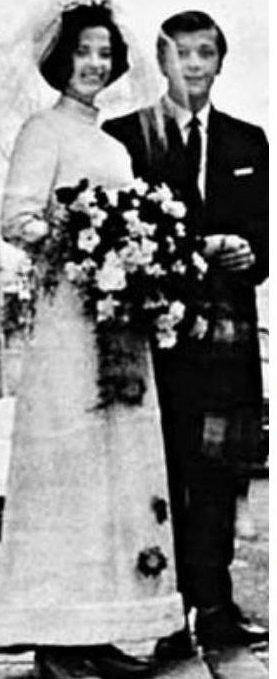 Михаил Задорнов взял в жены Велту Калнберзину, 1971 год