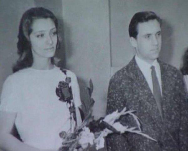 Владимир Высоцкий вступил в брак с Людмилой Абрамовой, 1965 год.