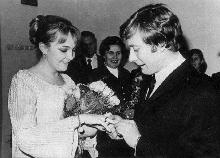 Андрей Миронов стал мужем Екатерины Градовой, 1971 год
