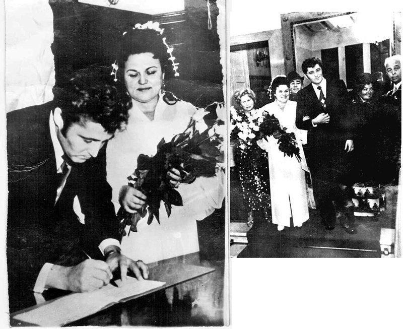 Людмила Зыкина и Виктор Гридин поженились в 1975 году