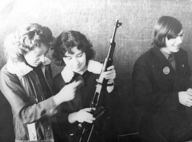 Школа в 1968 году