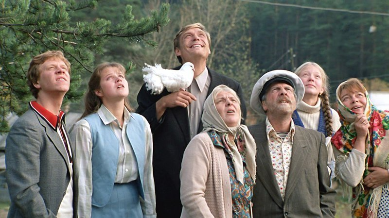 Фильм об измене «Любовь и голуби», 1984