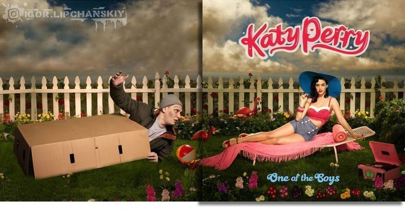 Представление закончено, пора в коробку. Katy Perry, «One of the Boys» (2008)