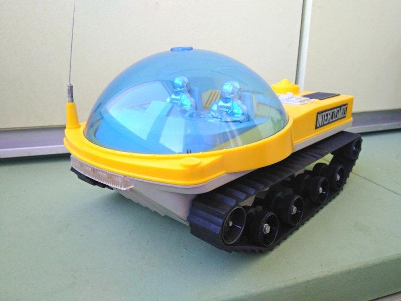 Лично у меня в дошкольном детстве был такой вот луноход!