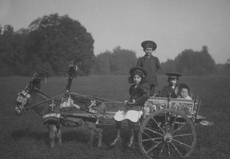 Поездка семьи Николая в Италию в 1909 году