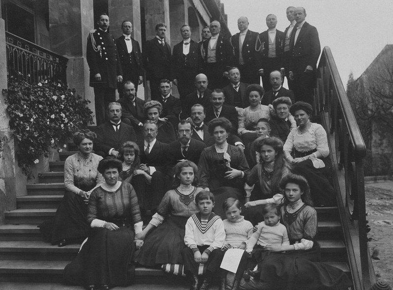 В 2010 году семья Романовых путешествовала по Германии
