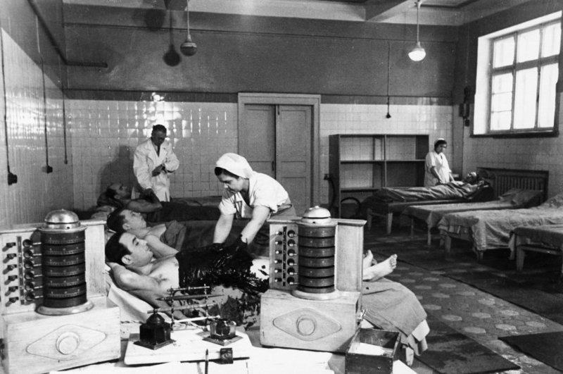 Детокс с помощью целебных грязей, 1952 год
