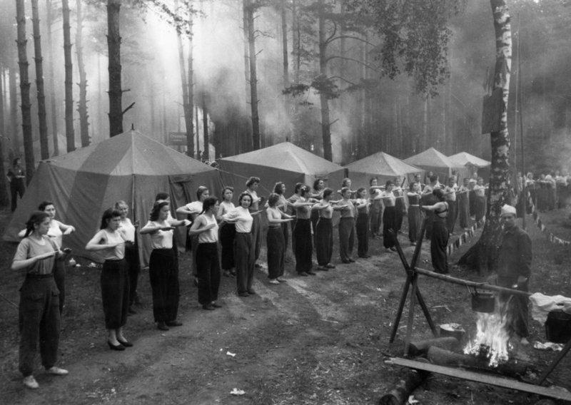 В 1953 году под Москвой было хорошо, как на курорте