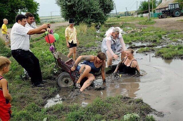 Сульфидная грязь Сакского озера - у дома