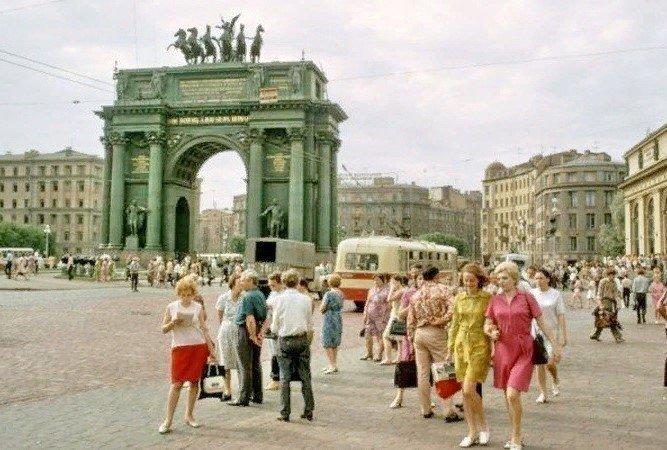 """""""Стиляги"""" в Ленинграде, 1972 году"""