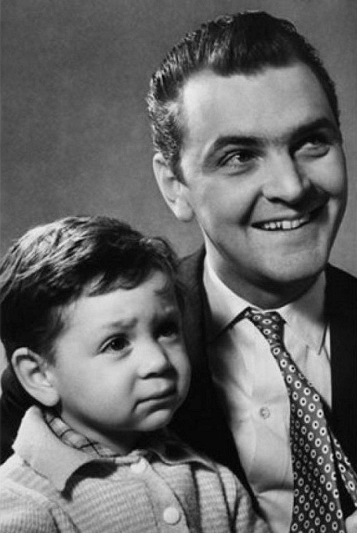 Снимай фотограф: Юрий Яковлев с сыном Алексеем