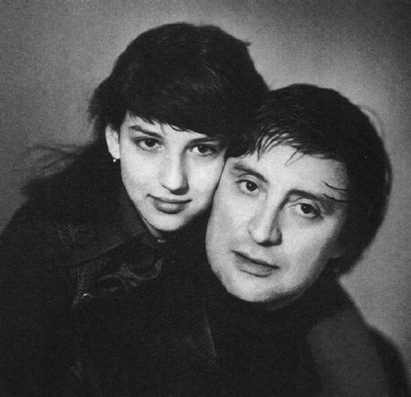 Алика Смехова с любимым отцом Вениамином