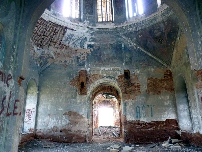 Свято-Троицкий храм в селе Татарские (Рождественские) Челны