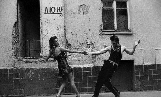 """Танцы в """"перестройку"""""""