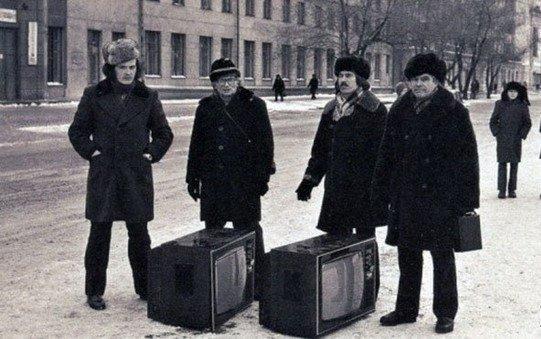 Испорченные телевизоры в Новокузнецке, 1983 год