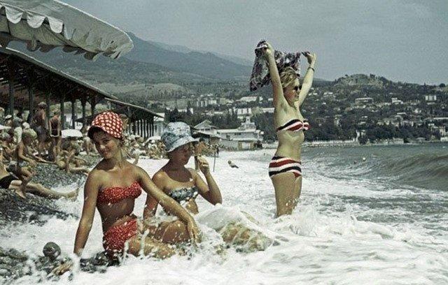 Красотки в Крыму, 1963 год