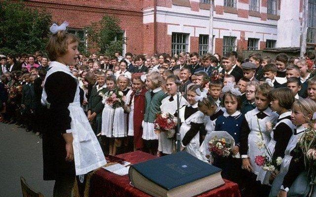 1 сентября 1965 года, школа в Иркутске