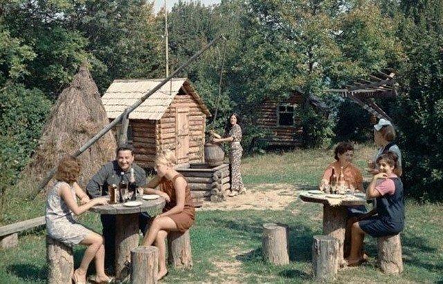 Советские граждане отдыхают, 1978 год