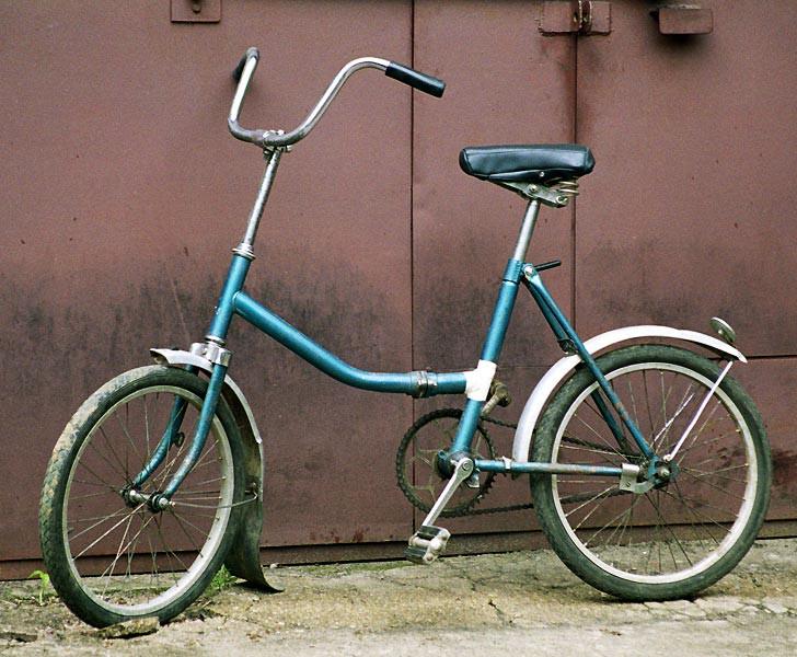 """Велосипед """"Десна"""" выглядел уже не так круто"""