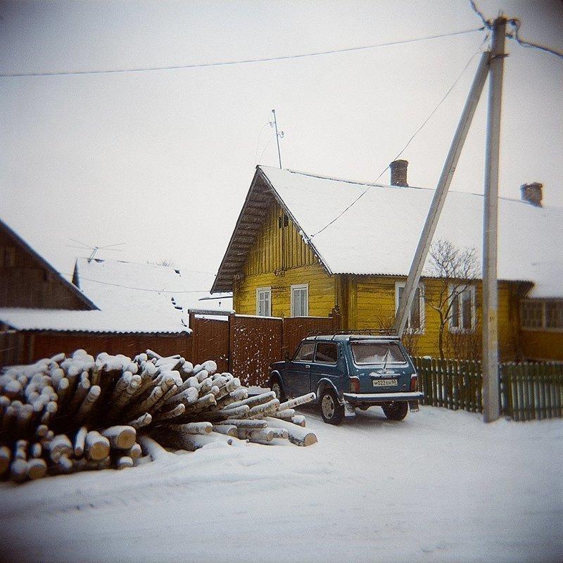 Старая русская деревня, где время навсегда остановилось