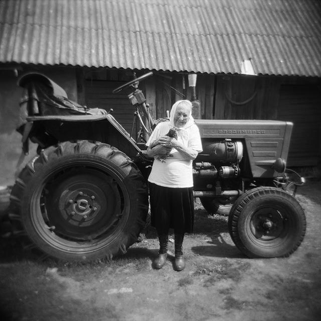Ольга Ивановна помнит времена, когда Изборск был колхозом