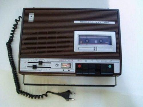 Магнитофон, с которым проводили жизнь
