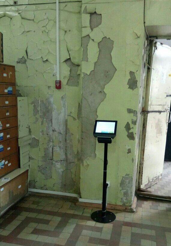 Новые технологии приходят даже в заброшенные здания