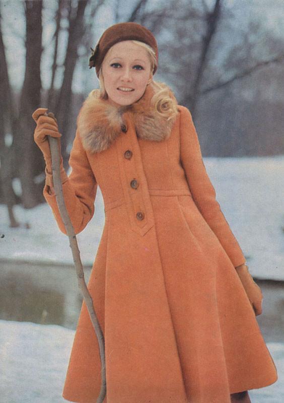 Татьяна Михалкова (Соловьева), будущая жена мэтра