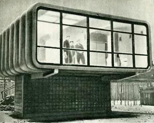 Вот так выглядел пластмассовый домик в СССР, его фотографии облетели все журналы мира