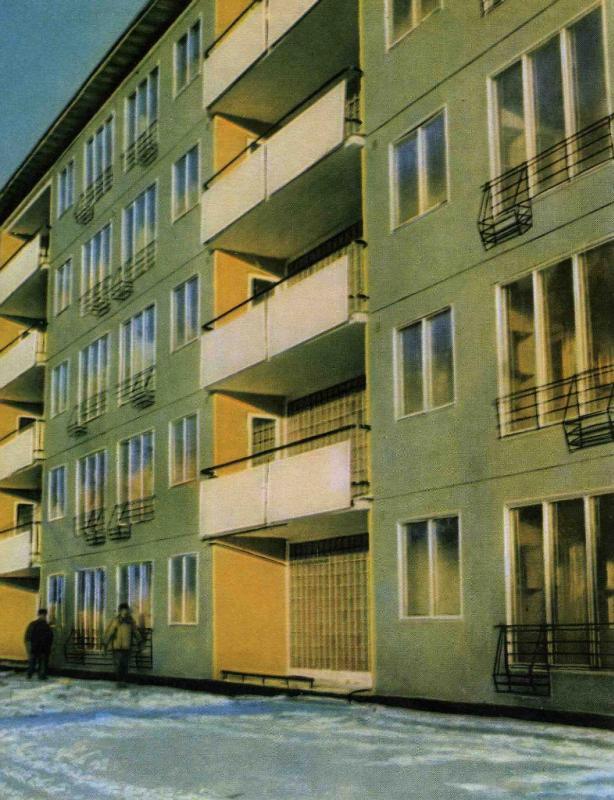 Пятиэтажка была возведена в Москве в середине 60-х