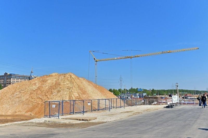 Второй этап реконструкции Калужского шоссе завершится в 2018 году.
