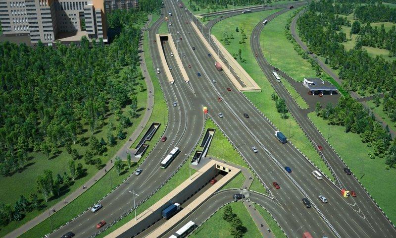Сегодня реконструкция дороги активно продолжается.