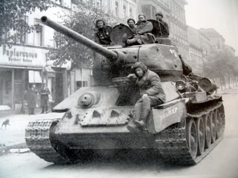 Танк Т-34 - символ Победы