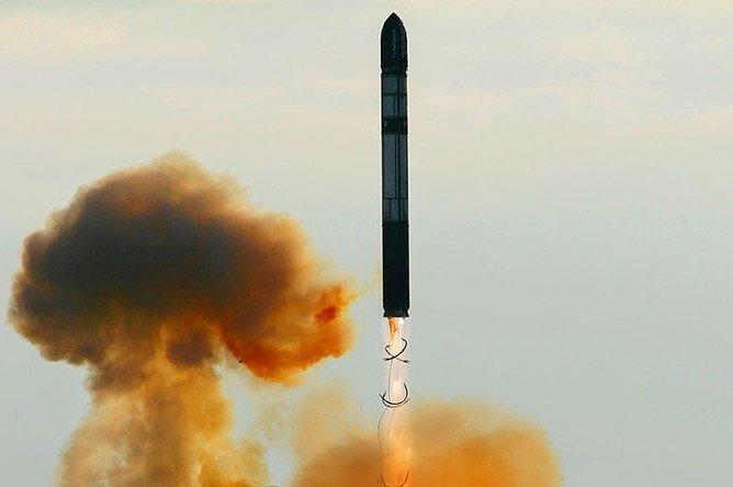 """Стратегический ракетный комплекс Р-36М американцы прозвали """"Сатана"""""""